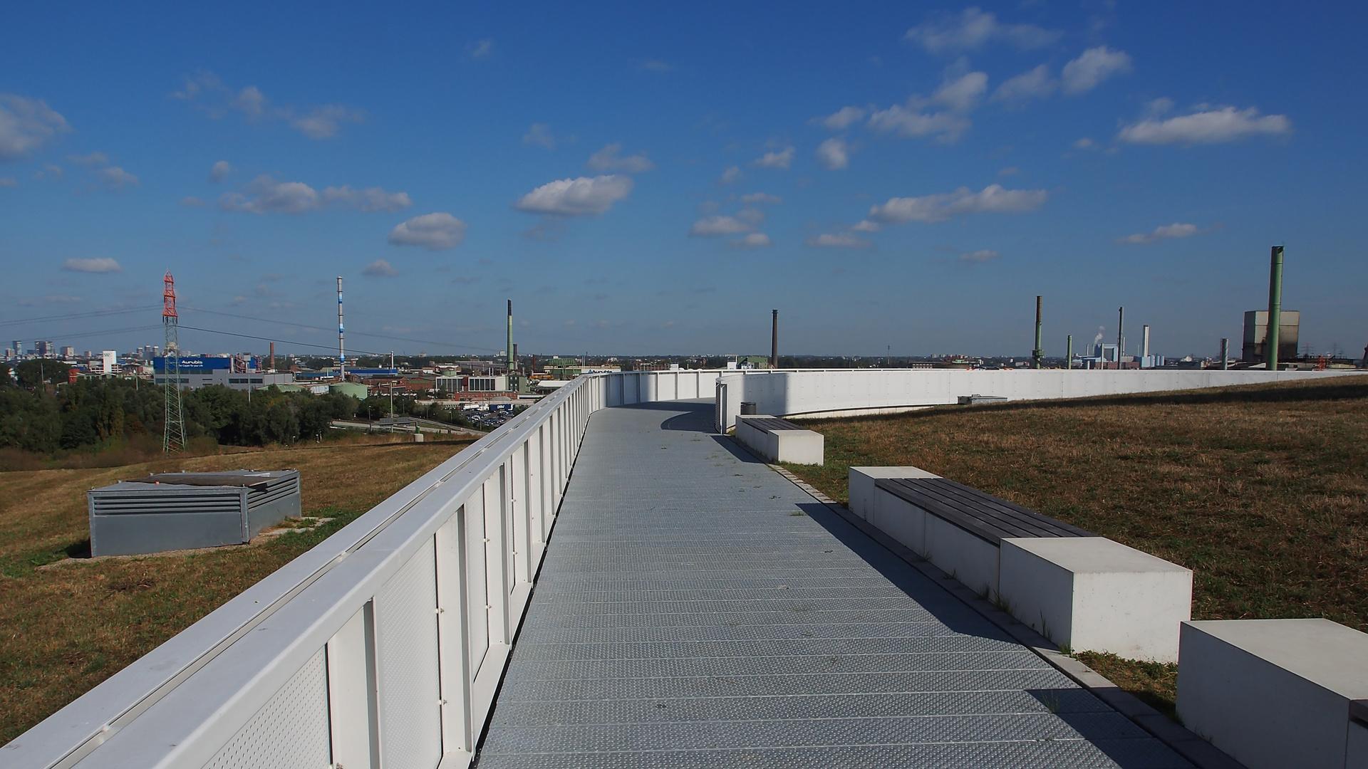Panorama, halb verdeckt