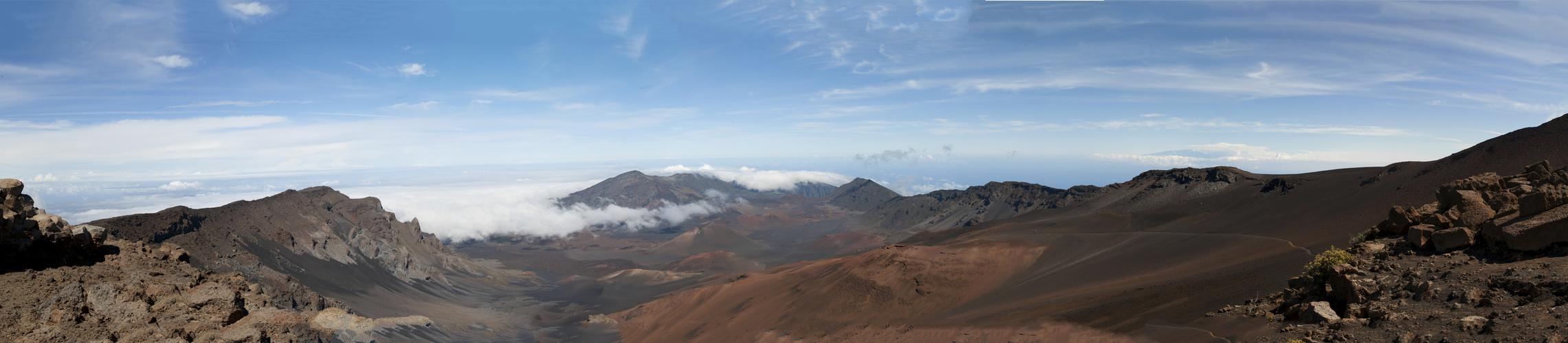 Panorama Haleakala