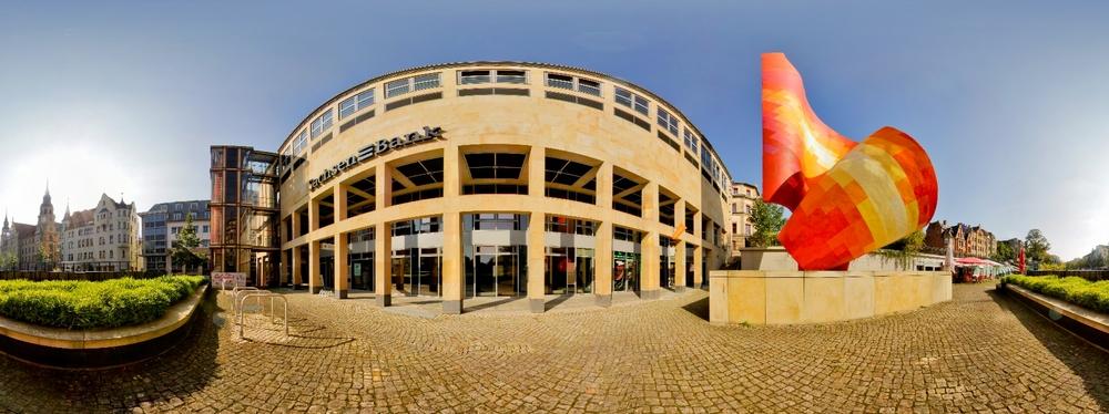 Panorama Hansering Halle/ Saale