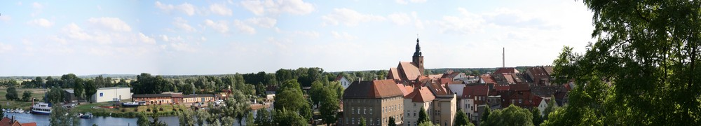 Panorama Havelberg