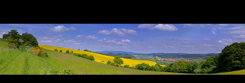 Panorama Heiligenmoschel II