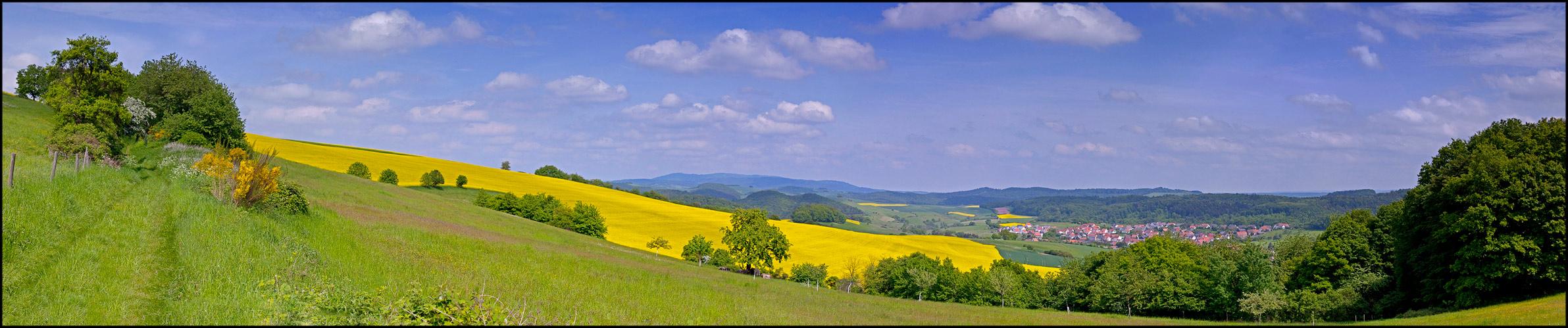 Panorama Heiligenmoschel II - reload -