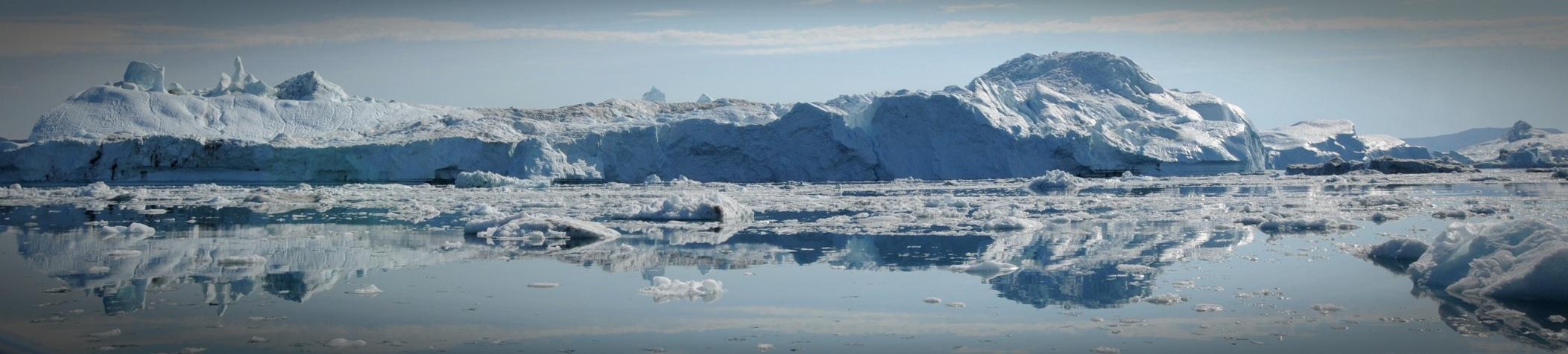 Panorama Ilulissat Eisfjord