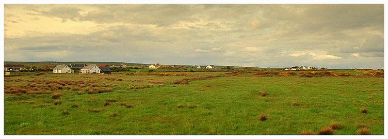 panorama in connemara