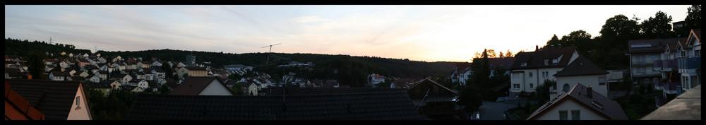 Panorama Ispringen