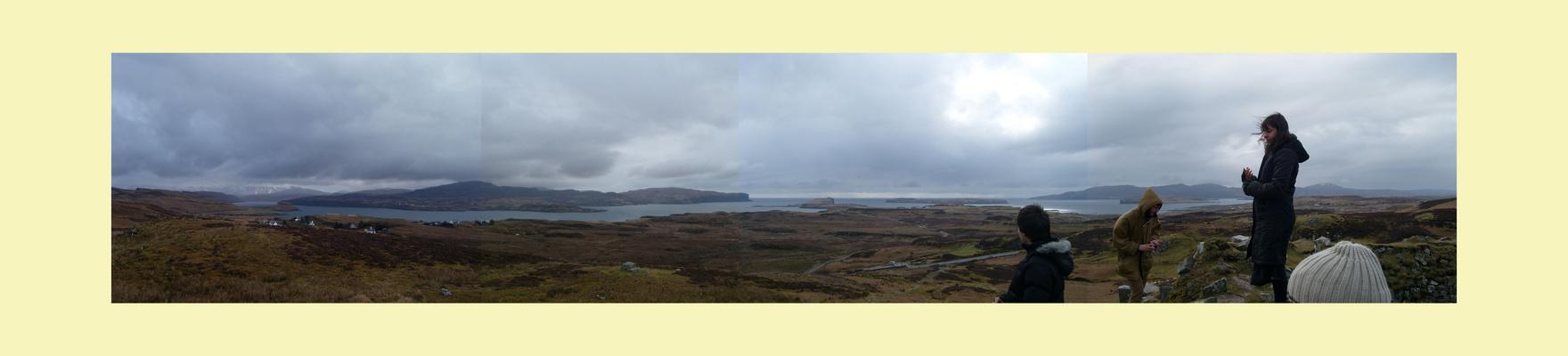 Panorama île de Skye, Ecosse