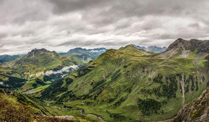 Panorama Lech am Arlberg