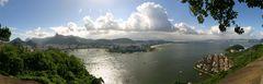 Panorama made on Morro da Urca