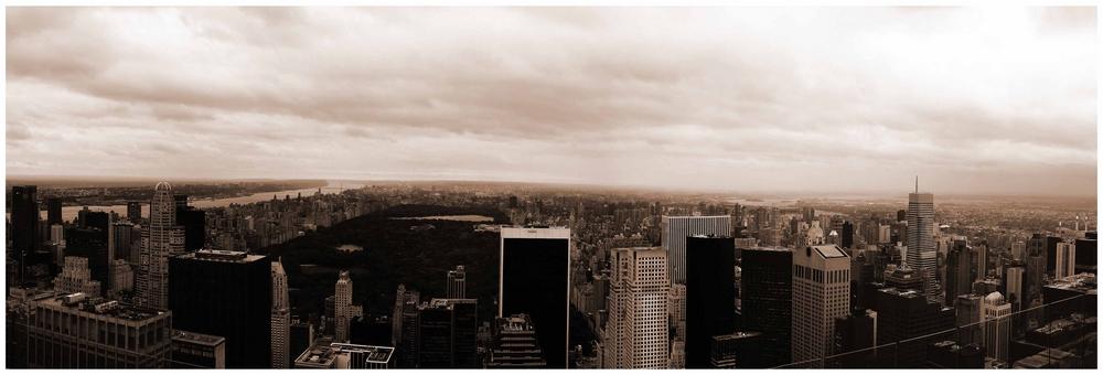 Panorama manhattan und central park