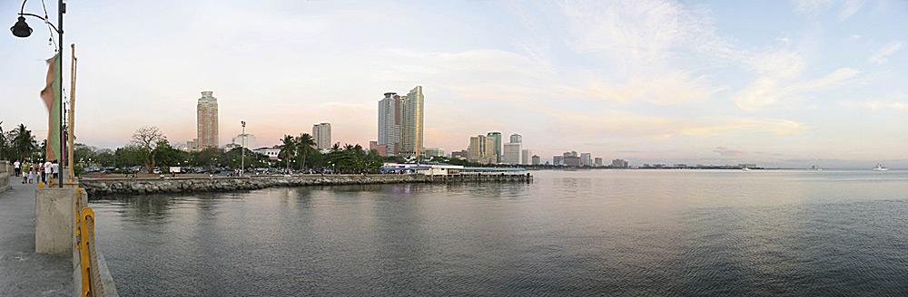 Panorama, Manila, Philippinen
