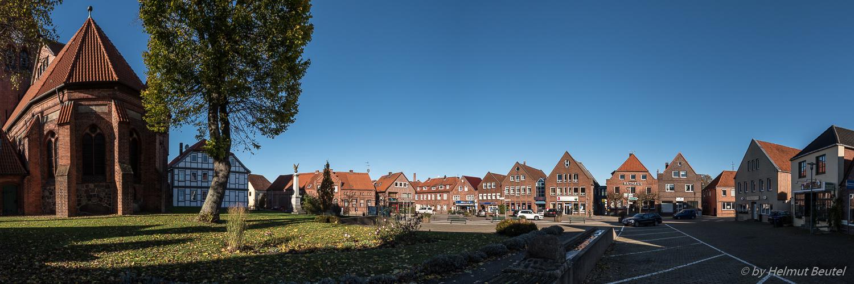 Panorama Marktplatz Dahlenburg