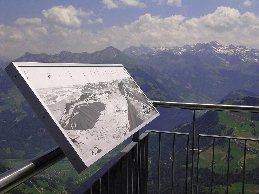 Panorama mit Karte