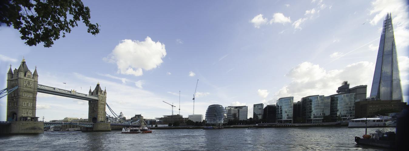 Panorama mit Towerbridge