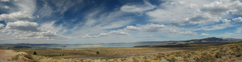 Panorama Mono Lake