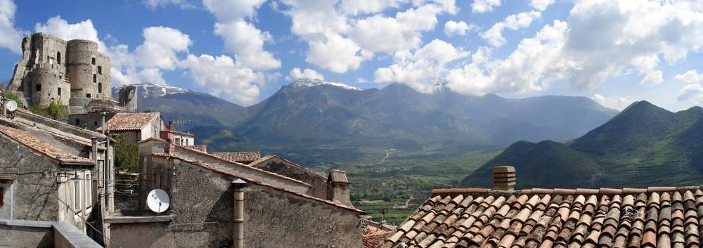 Panorama Morano Calabro & Pollino
