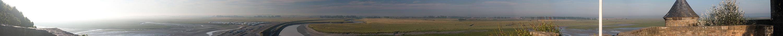 Panorama Mt. St. Michel