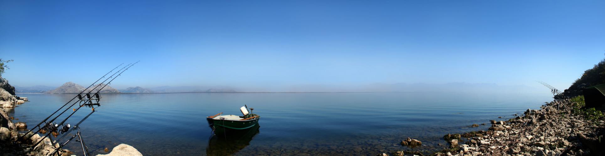 Panorama Nationalpark Skadarsee