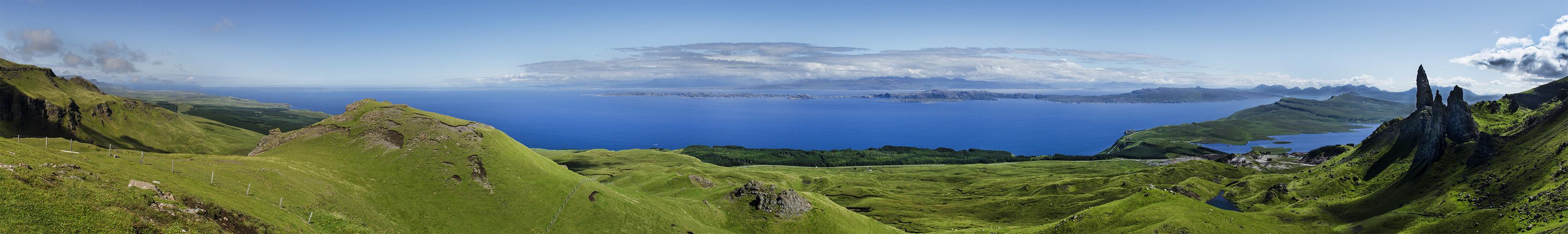 Panorama: Old Man of Storr, Isle of Skye