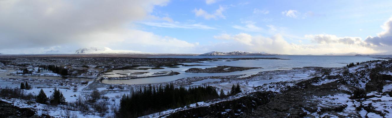 Panorama Pingvellir / Island