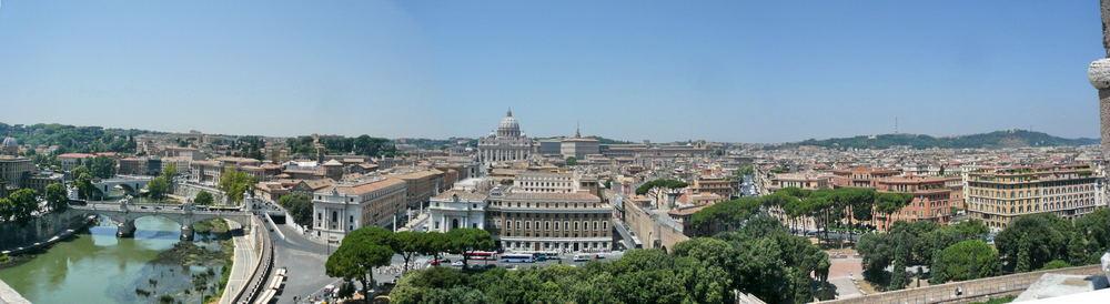 Panorama: Rom- Vatican