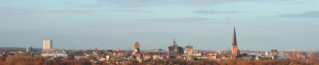 Panorama Rostock