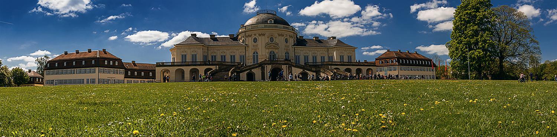 Panorama Schloss Solitude