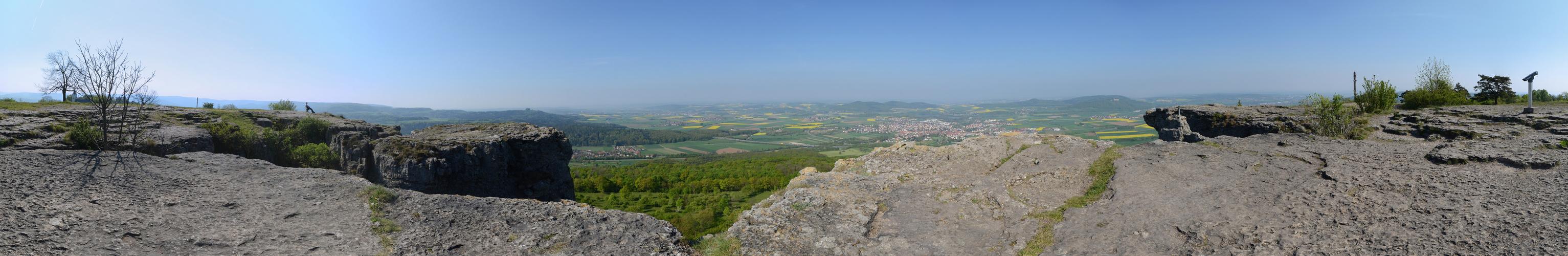 Panorama Staffelberg...