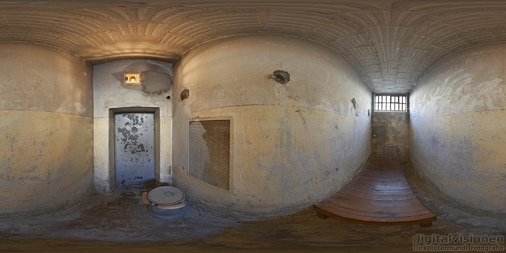 Panorama: Stasi Gefängnis Hohenschönhausen - Zelle im »U-Boot«