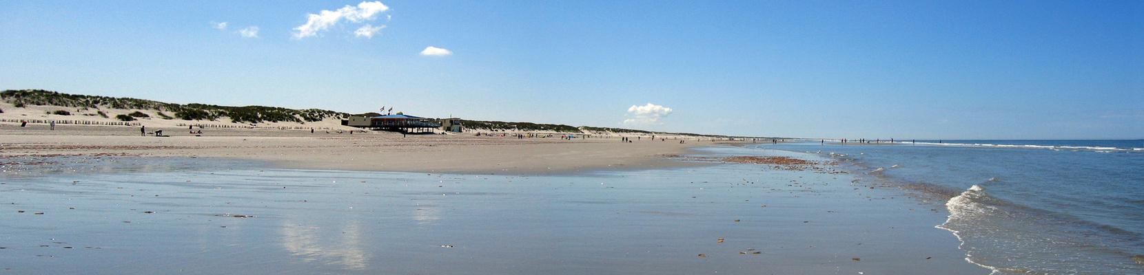 Panorama - Strand bei Nes / Ameland, NL