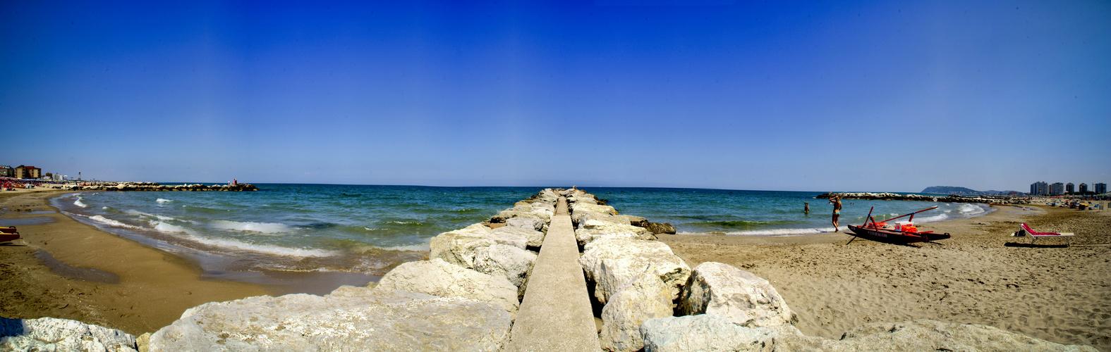 Panorama Strand Misano Adriatico