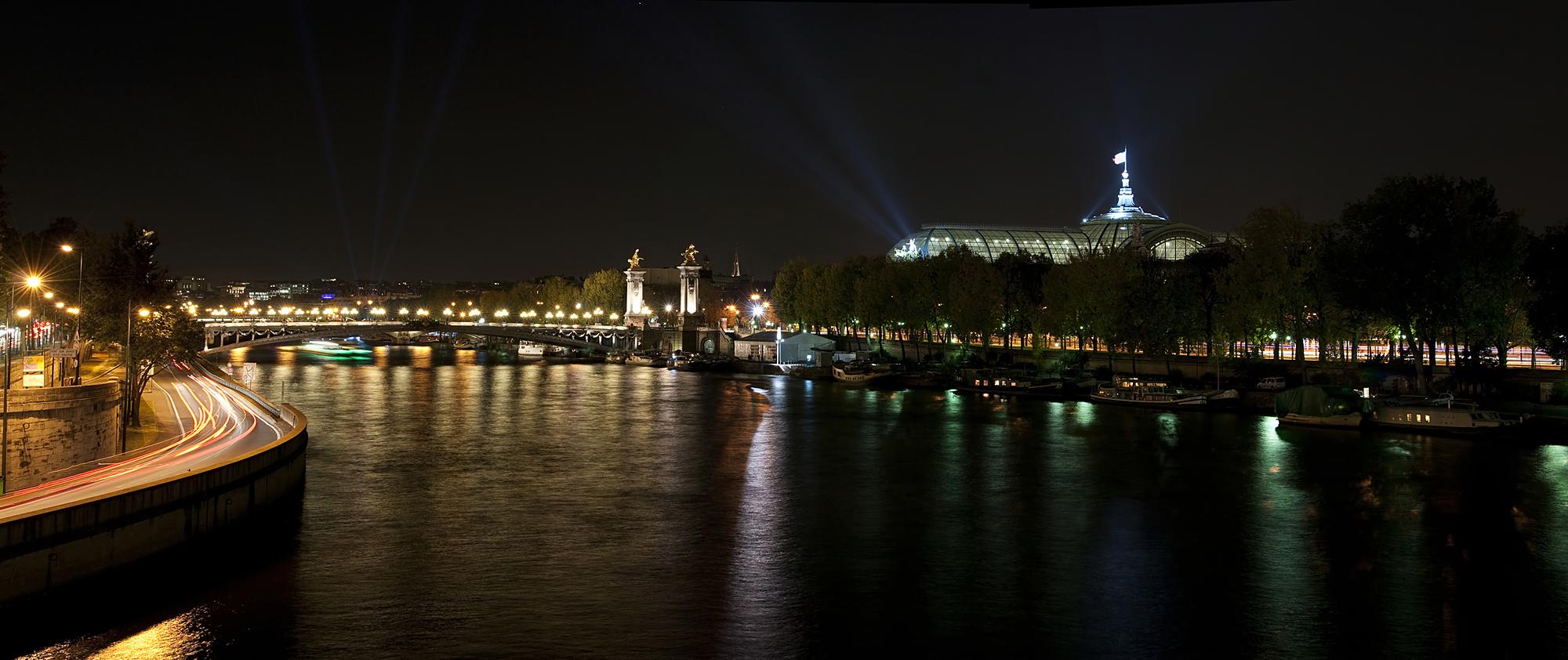 Panorama sur le Grand Palais