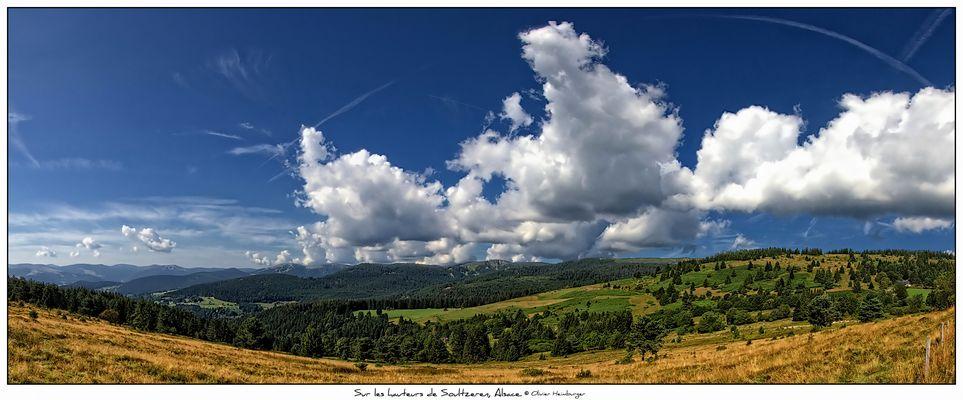 """Panorama """"Sur les hauteurs de Soultzeren, Alsace"""""""