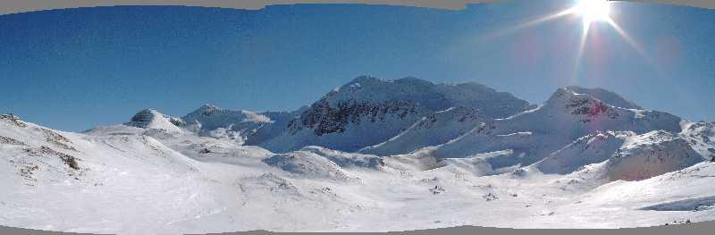 Panorama - Tauerngebiet im Salzburger Land