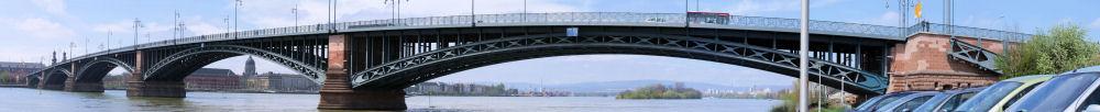 Panorama - Theodor Heuss Brücke