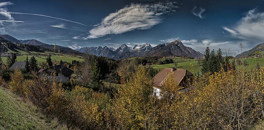 Panorama Totes Gebirge
