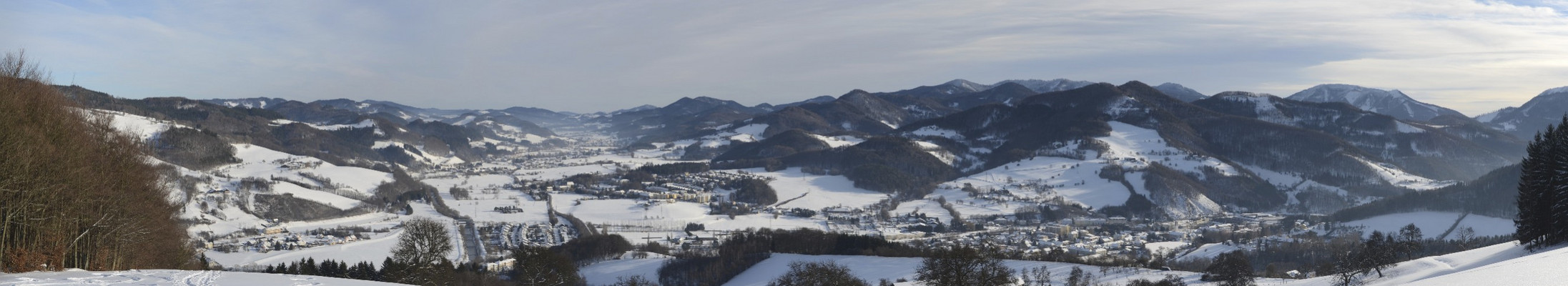 Panorama Traisen/Gölsental Niederösterreich