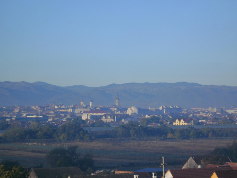 Panorama über Sibiu