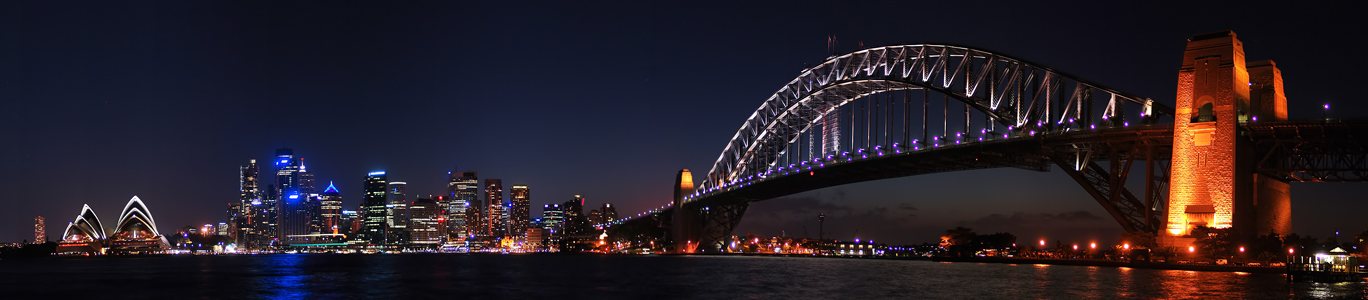 Panorama View from Milsons Point