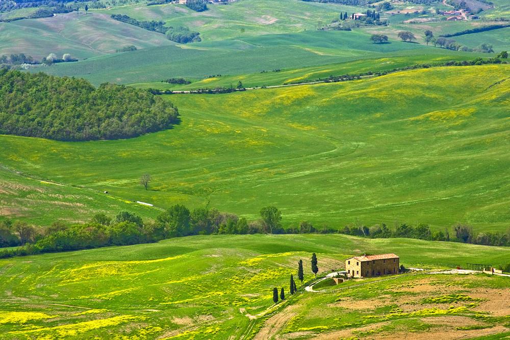 Panorama visto da PIENZA