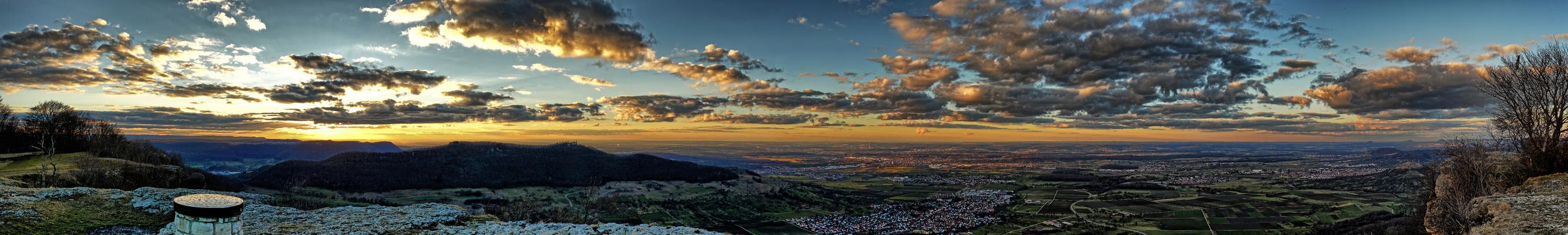 Panorama vom Breitenstein aus
