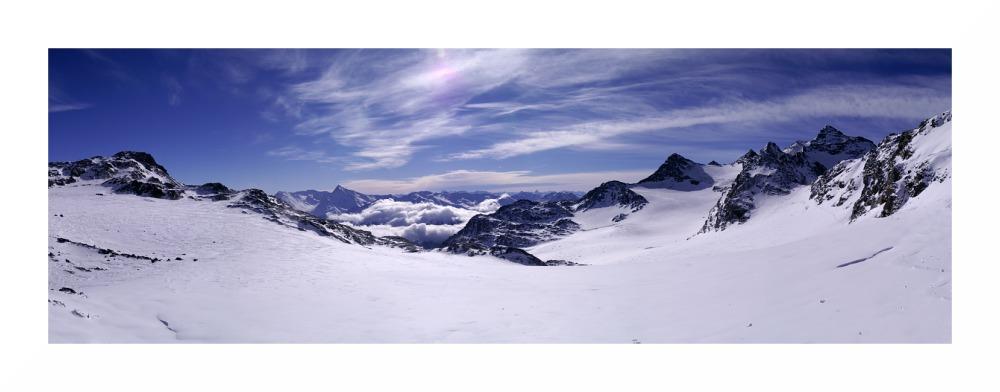 Panorama vom Col