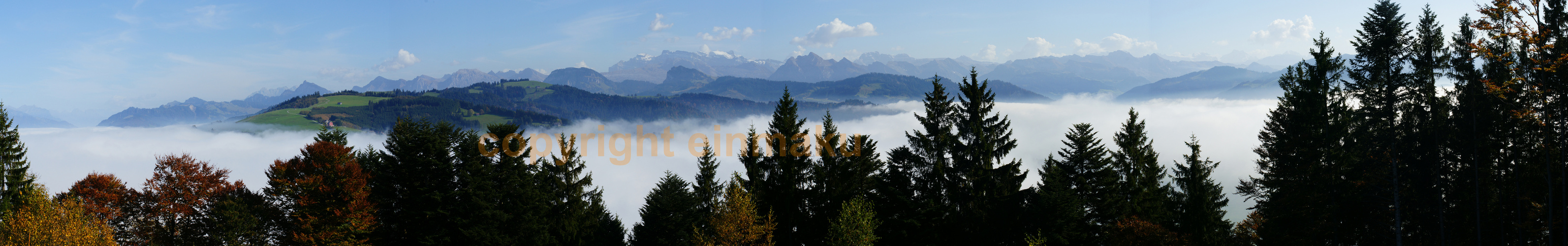 Panorama vom Etzel