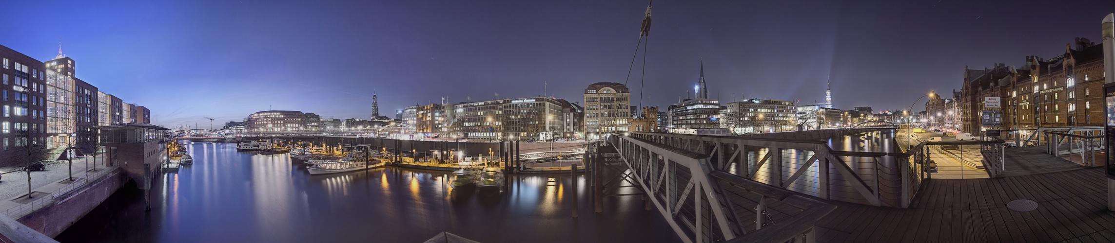 Panorama vom Fleet