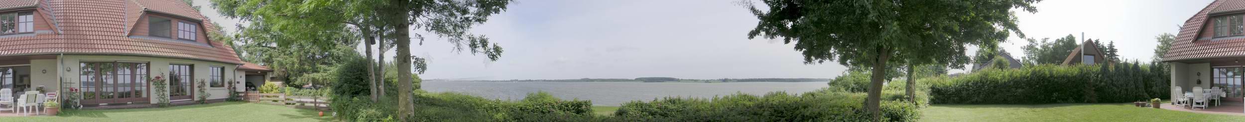Panorama vom Garten aus