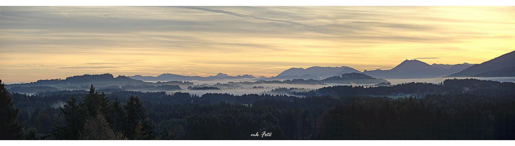 Panorama vom Hochberg