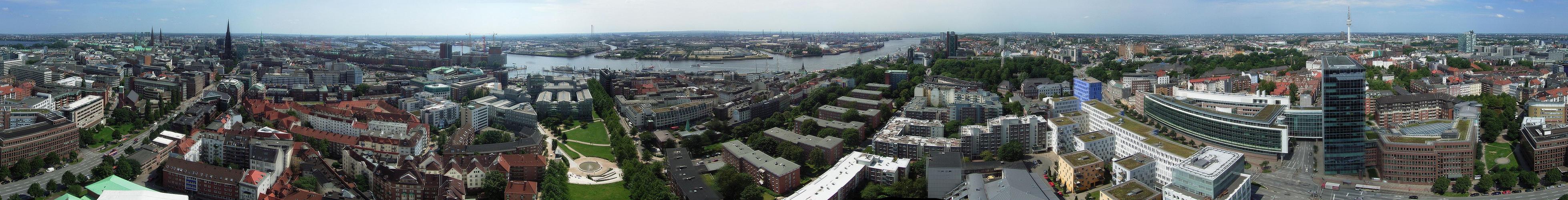 Panorama vom Michel