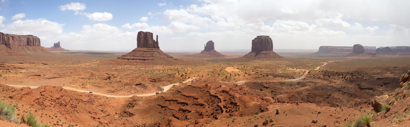 Panorama vom Monument Valley