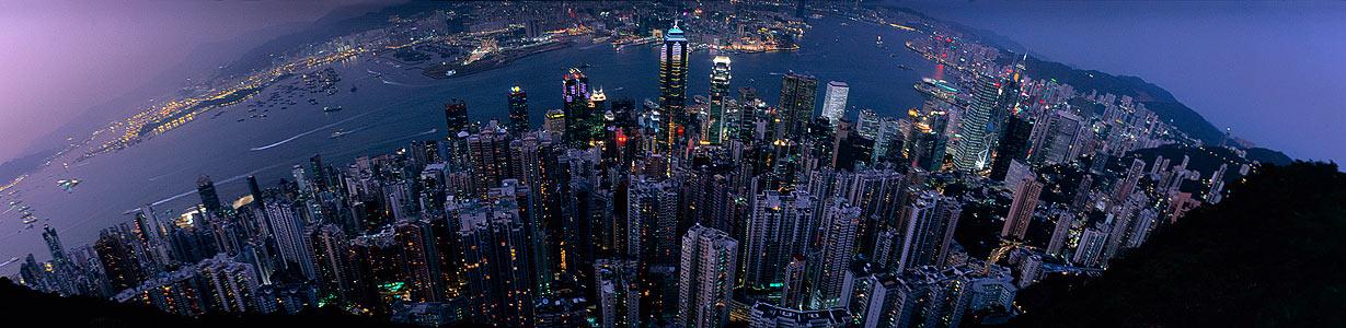 Panorama vom Peak XL