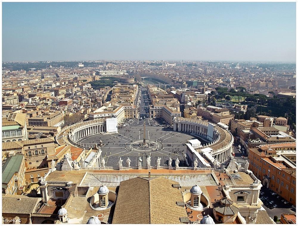 Panorama vom Petersdom - Rom I