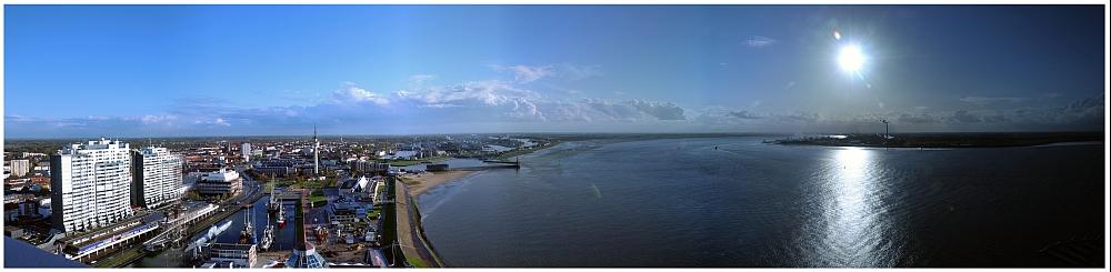 Panorama vom Sail City Tower
